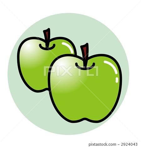 矢量图 矢量 苹果树上