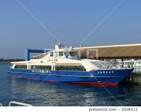 照片 交通工具_交通 船_游艇 船 游船 客船 码头  *pixta限定素材仅在