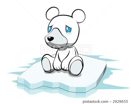 北极熊 动物宝宝 动物群