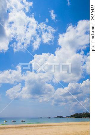 景色 风景 海-图库照片 [2930485] - pixta