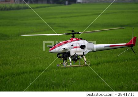 无线电遥控模型 直升飞机