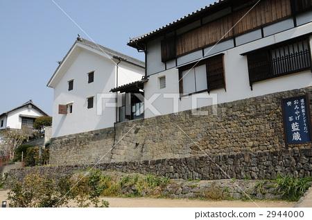 图库照片: 一排房子 每扇门 日式房屋