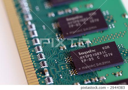 记忆 计算机部件 印刷电路板