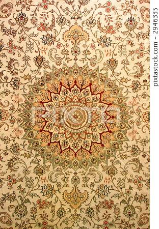照片素材(图片): 地毯 花样 花纹