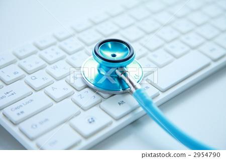 健康_美容 受伤_治疗 诊断 诊断 听诊器 调查分析  *pixta限定素材仅