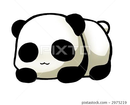 熊猫 插图 熊猫 首页 插图 动物_鸟儿 熊猫 熊猫  *pixta限定素材仅在
