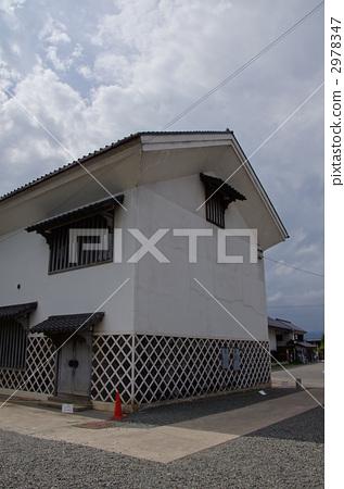 日式房屋 风景名胜 门