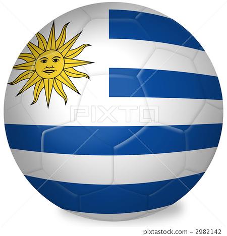 乌拉圭 足球 旗子