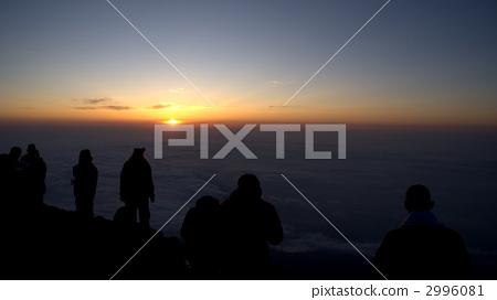 图库照片: 在山顶看日出 风景 日出