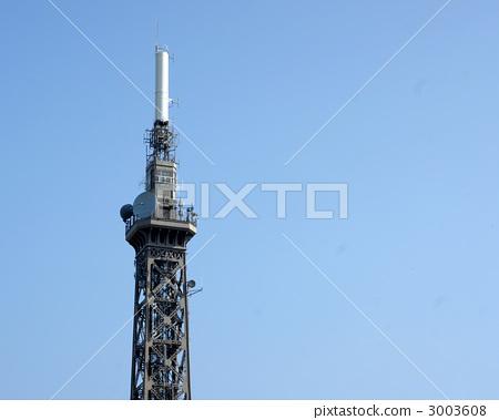 无线电塔 天线杆 电视塔