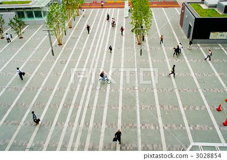 方形 广场 集市