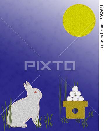 月圆之夜 中秋节之夜 望月