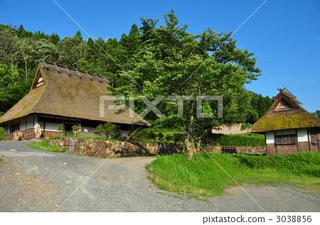 建筑 日式房屋 农村