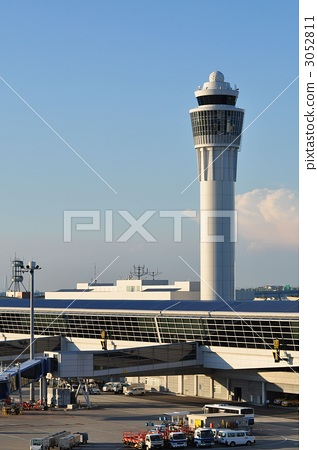 控制台 机场 中部国际机场-图库照片 [3052811]