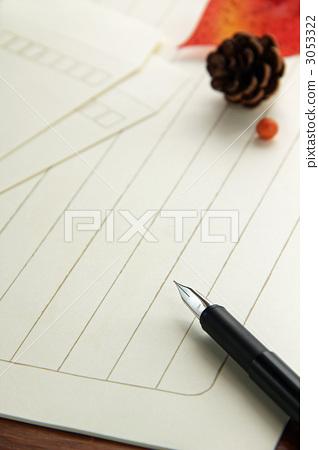 钢笔 首页 照片 文具 笔 钢笔 信纸 书写纸 钢笔  *pixta限定素材仅在