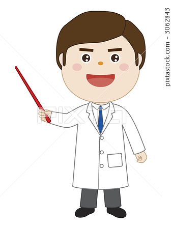 插图素材: 解释 牙齿矫正医师 医生