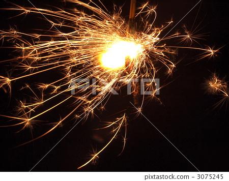 照片 烟花 花火 焰火  pixta限定素材      烟花 花火 焰火[3075245]