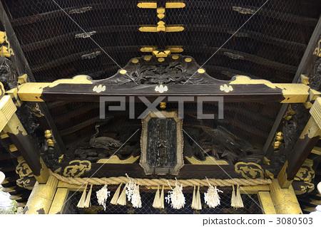 带框架的座右铭 中式大门 考古特征