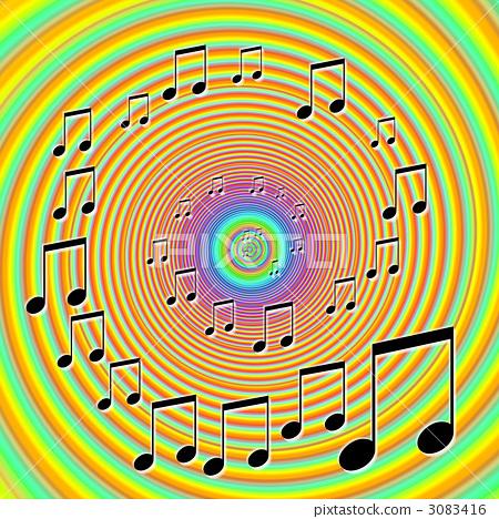 插图素材: 八分音符 笔记 音符