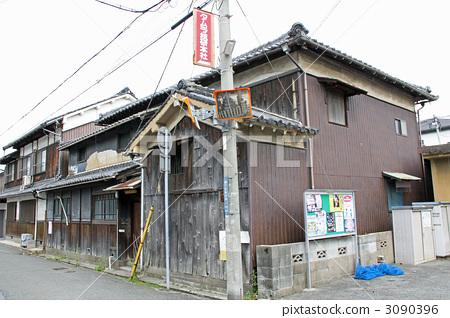 建筑 日式房屋 复古
