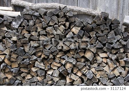 柴火 红豆杉梅松 木材