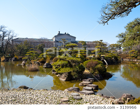 图库照片: 天王寺公园 日本园林 日式花园