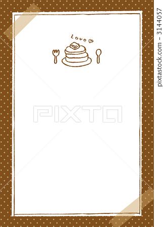 图库插图: 手绘 单色 插图
