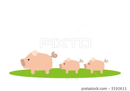 首页 插图 动物_鸟儿 牲畜 猪 猪 插图 剪贴画  *pixta限定素材仅在