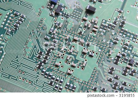 印刷电路板 环形 电脑线路板