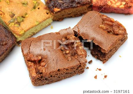 布朗尼 糕点 西式甜点图片