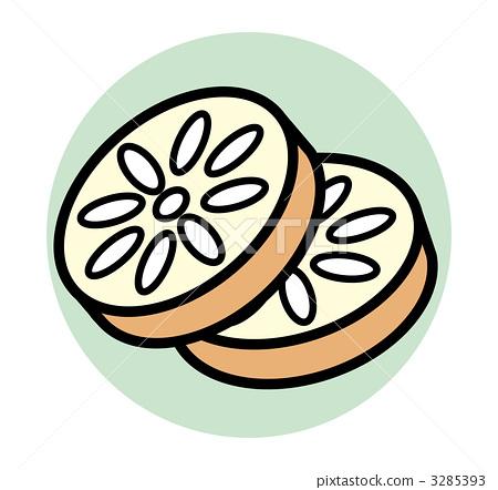 莲藕视觉设计图片