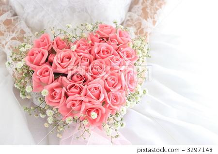 照片 植物_花 花束 花束 新娘捧花 花束 身体部位  *pixta限定素材仅