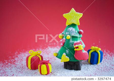 圣诞树粘土作品大全图片步骤