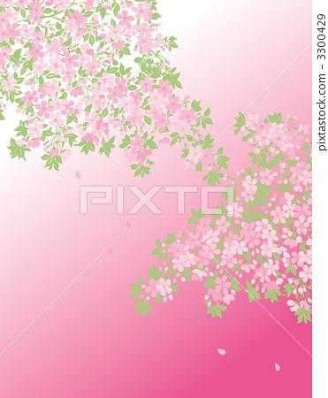 矢量图 樱桃树 矢量