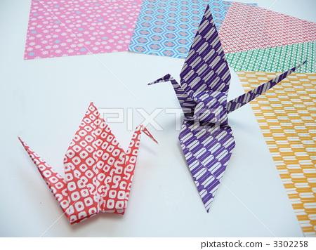 图库照片: 纸鹤 鹤 折纸