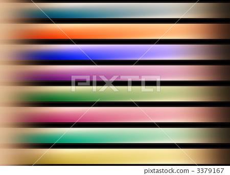 插图素材: 横轴线 彩虹色的 抽象