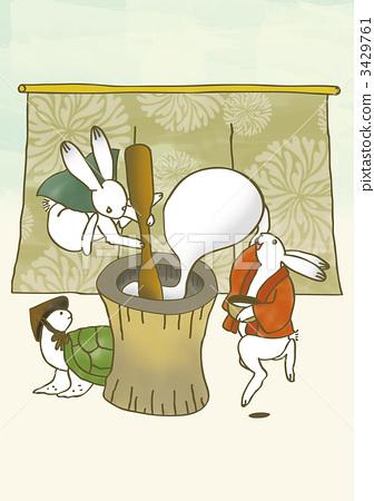 中秋节之夜 兔子 月圆之夜