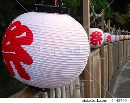 中国灯笼 纸灯笼 日本节日