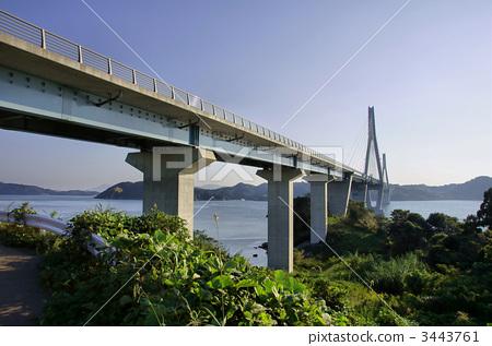 照片素材(图片): 桥 桥梁 日本大桥