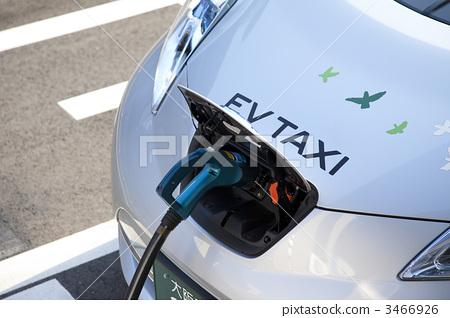 图库照片: 充电 电动汽车 充电器