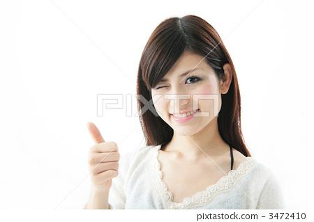 少女 首页 照片 人物 女性 女孩 眨眼 女孩 少女  *pixta限定素材仅在