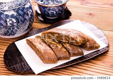 照片素材(图片): 粗糕点 烘焙甜食 中式点心