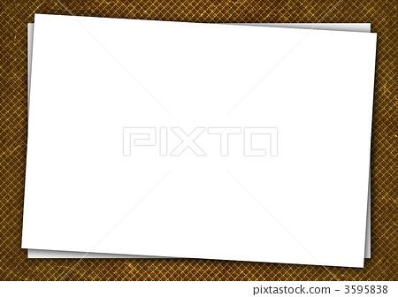 插图 休闲_爱好_游戏 游戏 日本纸牌 白纸 空白页 纸  *pixta限定素材