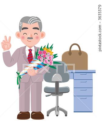 插图素材: 退休 退休的 退休年龄