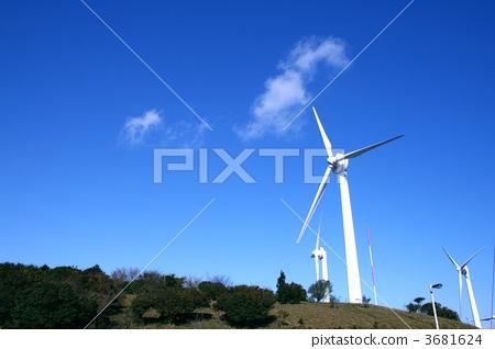 风力涡轮机 风车 风能