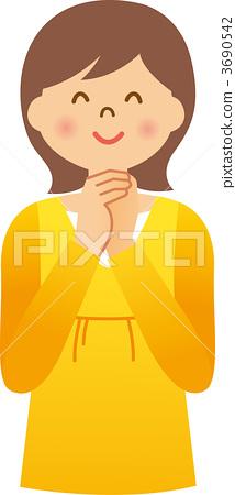 qq头像中年女性卡通