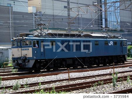 照片素材(图片): 货运列车 日本国家铁路的颜色 钢铁战士饮食