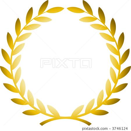 图库插图: 矢量 胜利 荣誉