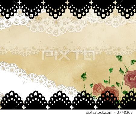 玫瑰 蕾丝 花朵