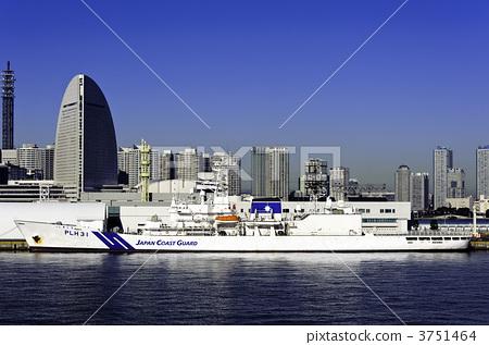 敷岛 日本海岸警卫队 未来港